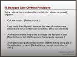 iii managed care contract provisions14