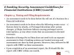 e banking security assessment guidelines for financial institutions cbrc cont d1