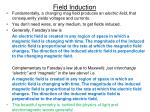 field induction