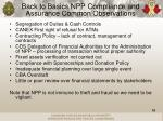 back to basics npp compliance and assurance common observations