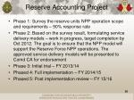 reserve accounting project1