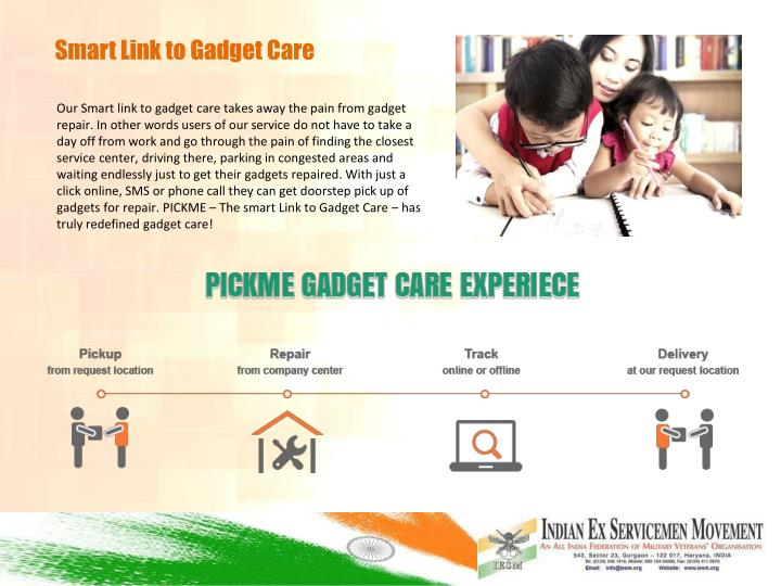 Smart Link to Gadget Care