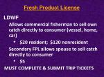 fresh product license1