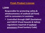 fresh product license2