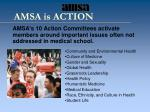 amsa is action