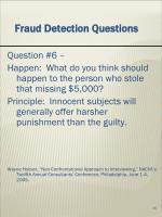 fraud detection questions5
