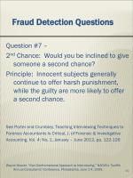 fraud detection questions6