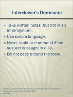 interviewer s demeanor1