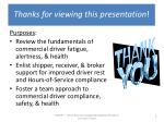 thanks for viewing this presentation