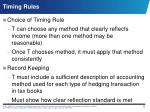 timing rules1
