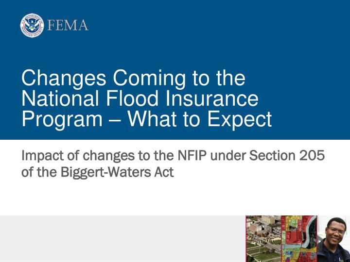 changes coming to the national flood insurance program what to expect n.