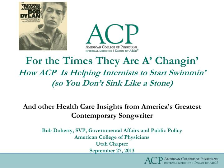 and other health care insights from america s greatest contemporary songwriter n.