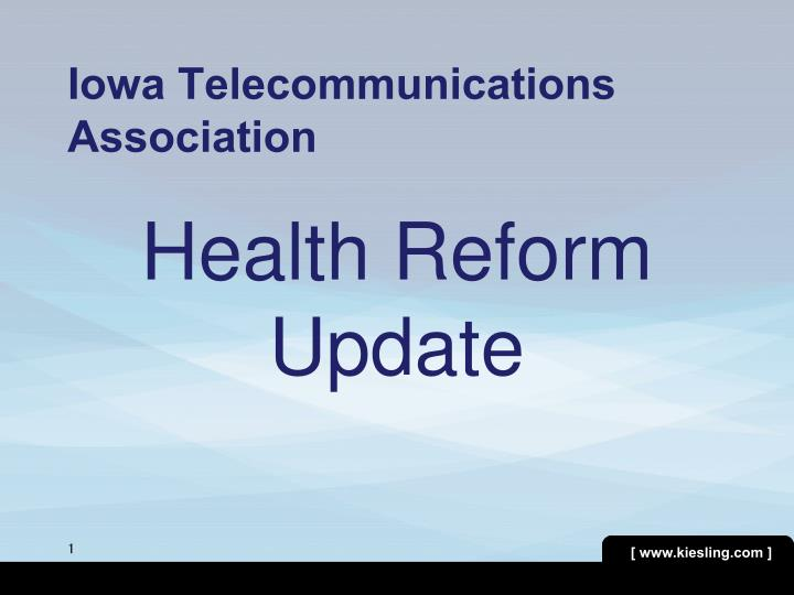 iowa telecommunications association n.