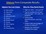 mature firm composite results1