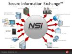 secure information exchange1