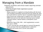 managing from a mandate4