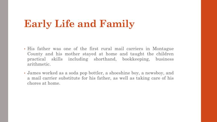 Early life and family1