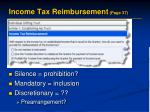 income tax reimbursement page 37