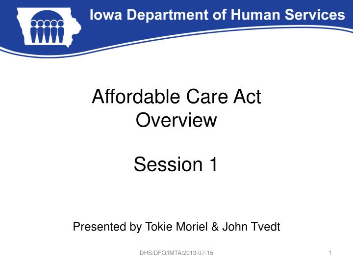 affordable care act overview n.