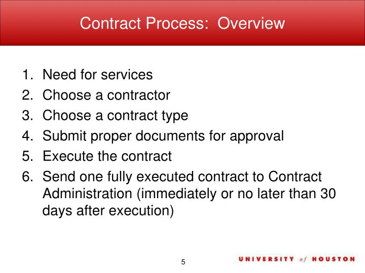 Ppt Office Of Contract Administration Contract Compliance