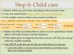 step 6 child care