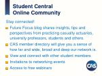 student central online community
