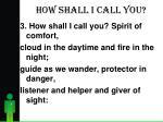 how shall i call you4