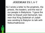 jeremiah 29 1 4 71