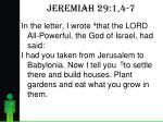 jeremiah 29 1 4 72