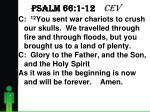 psalm 66 1 12 cev5