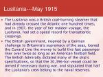 lusitania may 1915