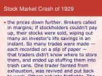 stock market crash of 19295