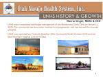 utah navajo health system inc