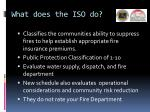 what does the iso do