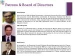 patrons board of directors1