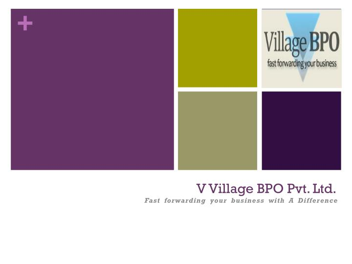 v village bpo pvt ltd n.