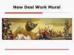 new deal work mural