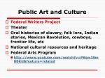 public art and culture