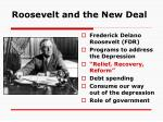roosevelt and the new deal1