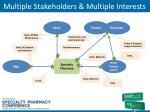 multiple stakeholders multiple interests
