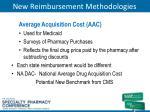 new reimbursement methodologies1