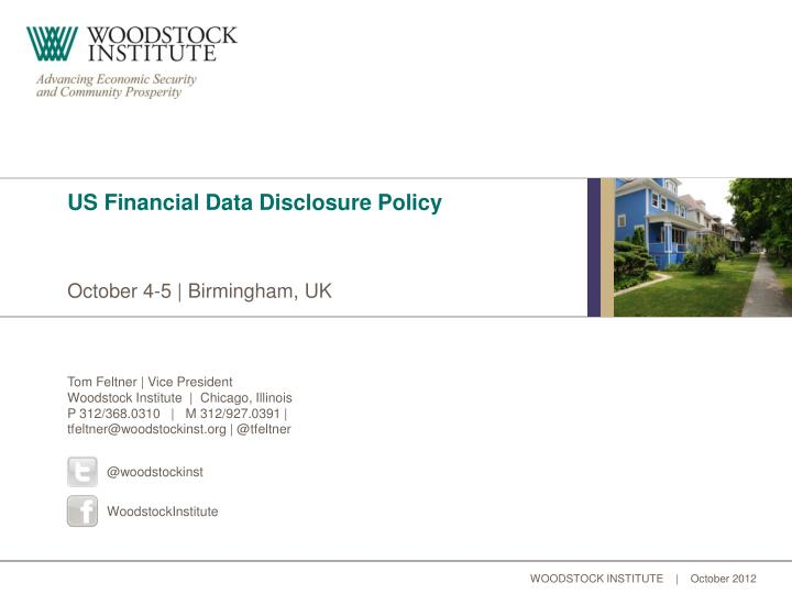 us financial data disclosure policy n.