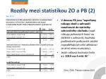 rozd ly mezi statistikou zo a pb 2