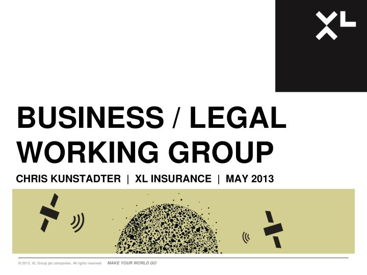 business legal working group n.