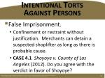 intentional torts against persons2