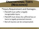 unintentional torts negligence6