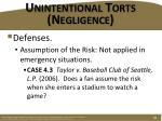 unintentional torts negligence8