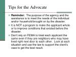 tips for the advocate1