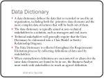 data dictionary1
