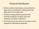 physical distribution1